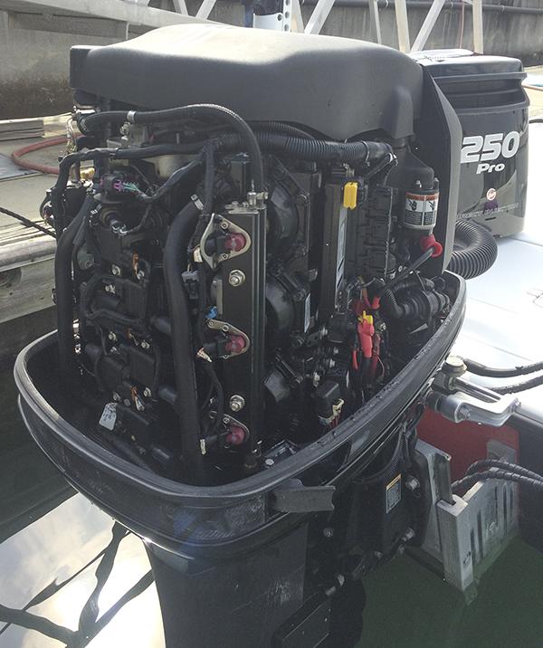 Mercury Optimax 250 pro XS for sale